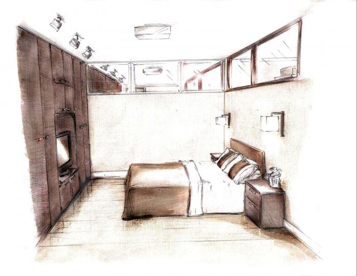 Дизайн спальни в комнате без окон
